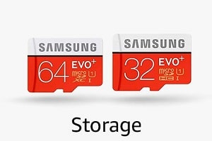 Samsung Pro Plus(Transfer Speed- Upto 95 Mbps)64 GB- With Adapter