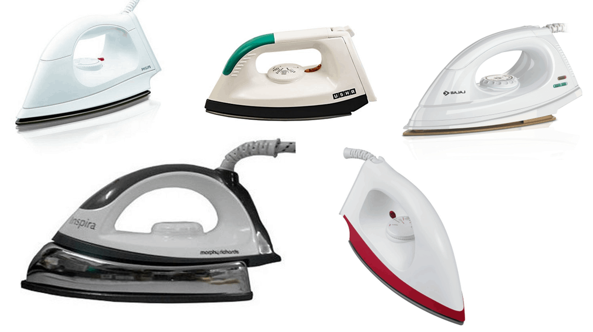 What Are Top 5 Best Dry Irons Around Rs.1000 in India ?