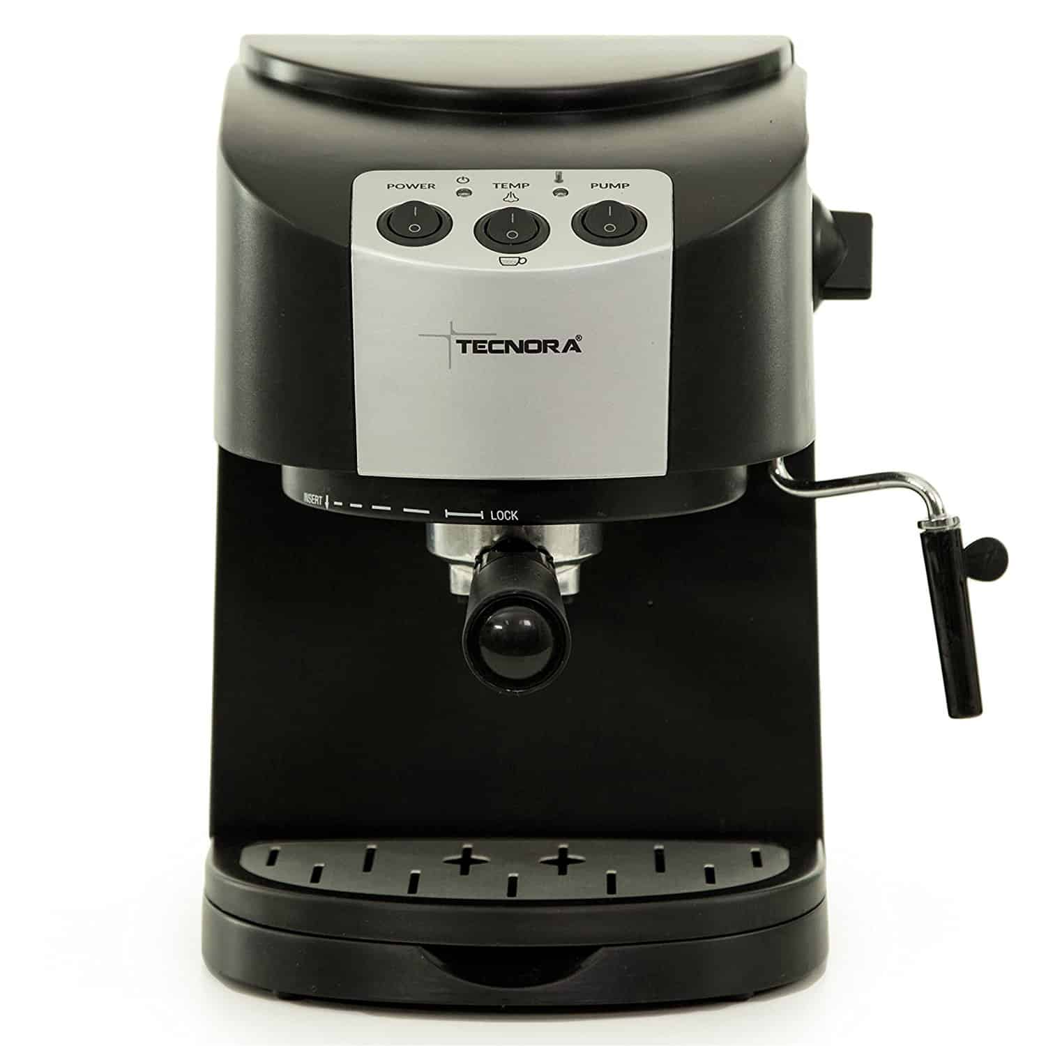 Tecnora New Classico TCM 107 M Thermoblock Pump Expresso and Cappuccino Coffee Maker