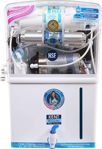 Kent Grand Plus TDS 8 L RO + UV +UF Water Purifier
