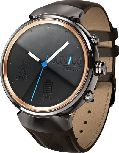 Asus Zenwatch 3 Gunmetal Price and Specifications