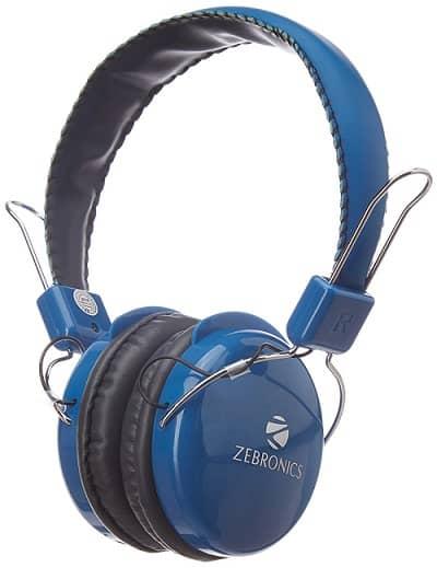Zebronics Raga Stereo Wireless Headphones
