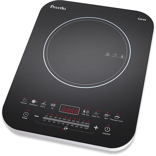 Preethi Curve IC Induction Cooktop