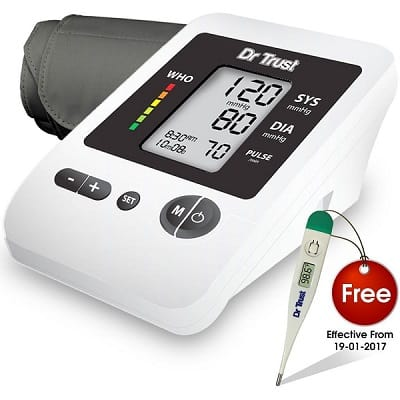 Dr Trust Silverline Blood Pressure Monitor