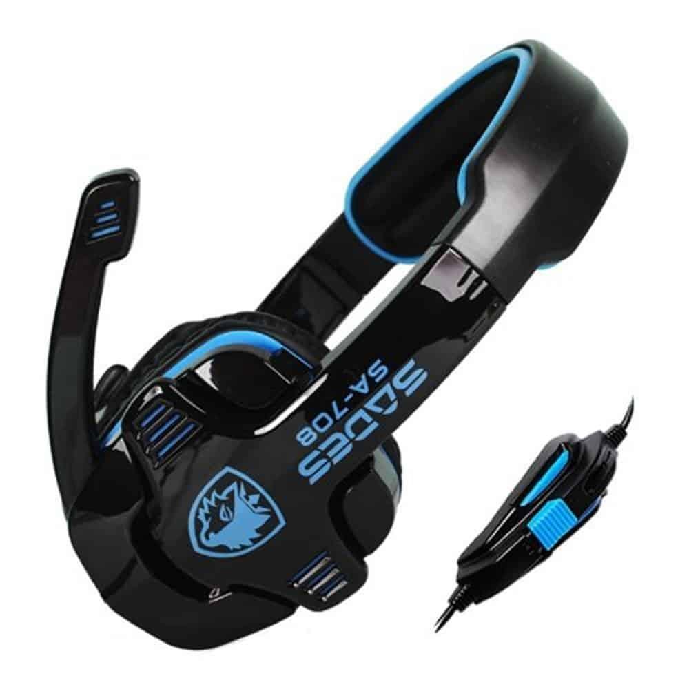 SA 708 Xpower 5.1 Channle Stereo Gaming headsets
