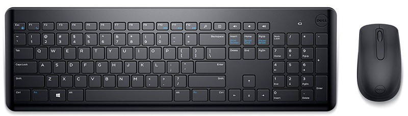 Dell KM117 Wireless Keyboard Mouse Combo