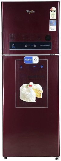 Whirlpool 340 L 2 Star Frost-Free Double Door Refrigerator