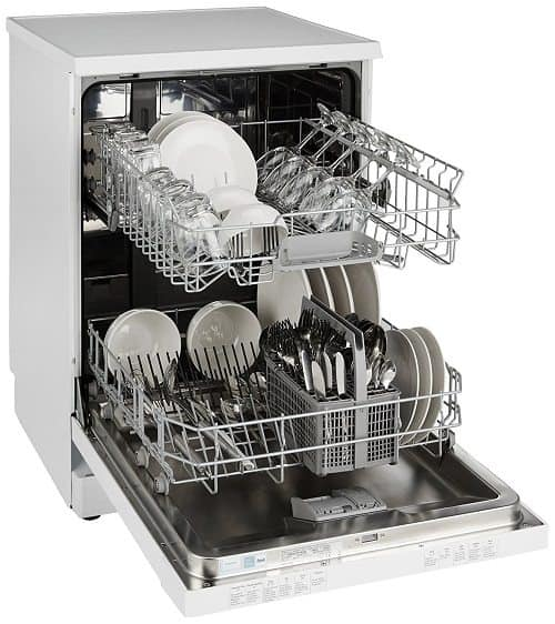 Siemens Free Standing 12 Place Settings Dishwasher SN26L201IN, White