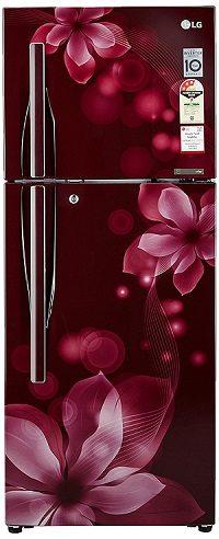 LG 260 L 3 Star Frost-Free Double Door Refrigerator