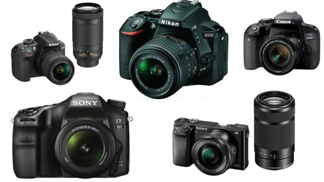 Top 5 Best DSLR Cameras and Lens Under Rs. 50000