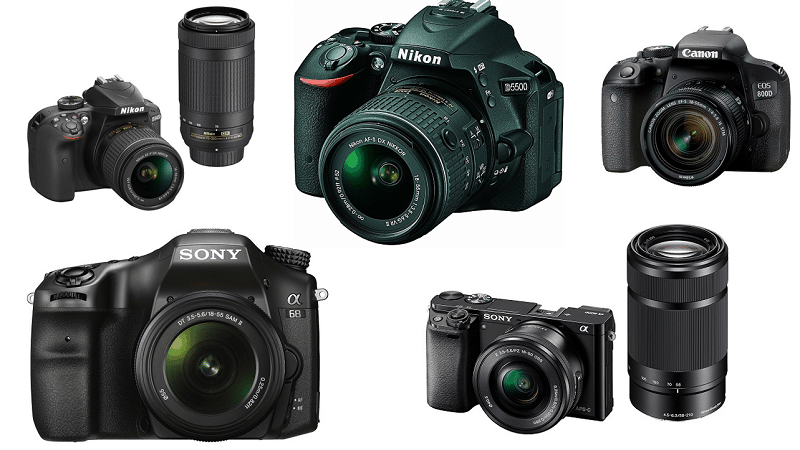 Top 10 Best DSLR Camera Under Rs. 2 Lakh in India (2018)