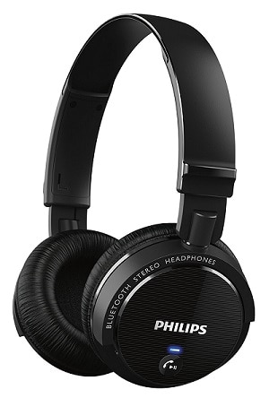Philips SHB5500BK Wireless Bluetooth Headphones