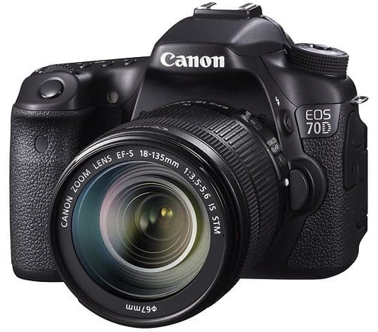 Canon EOS 70D 20.2 MP Digital SLR Camera with Dual Pixel CMOS AF