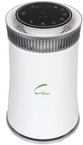 Gliese Magic - 24 Watt Room Air Purifier with HEPA Filter