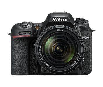 Nikon D7500 with AF