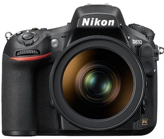 Nikon D810 36.0MP36.3MP Digital SLR Camera