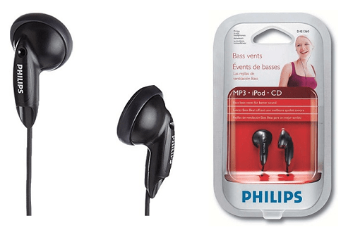 Philips SHE136097 In-Ear Headphones