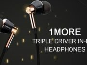 1More triple driver earphone thx