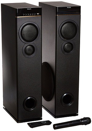 Philips SPA9080B Multimedia Tower Speakers