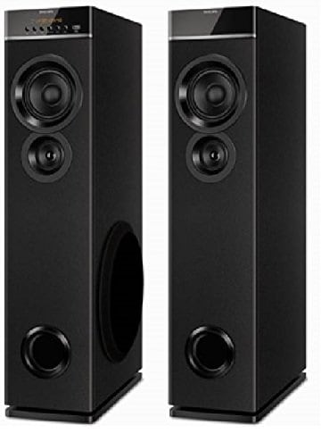 Philips SPT-6660 2.0 Channel Tower Speakers