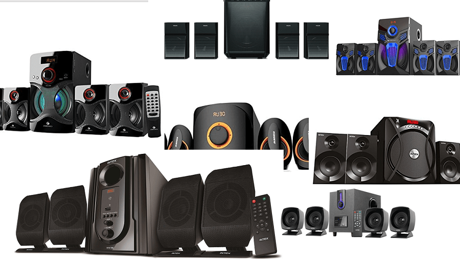 10 Best 4 1 Channel Speakers in India (2019) - Review | Shubz