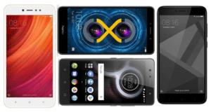 Top 5 Best Smartphones Under Rs. 10,000 2018