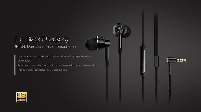 1more dual in ear headphone