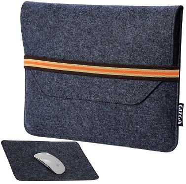 GIZGA 15.6 inch Protective Felt Laptop Sleeve