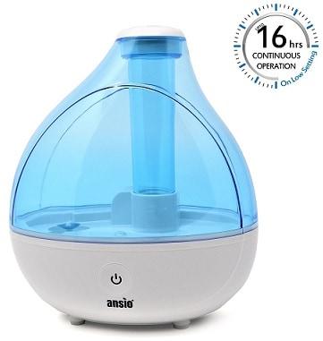 Ansio Humidifier - Ultrasonic Cool Mist