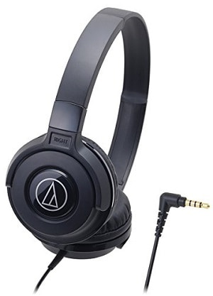 Audio-Technica Street ATH-S100BK Monitoring Headphones