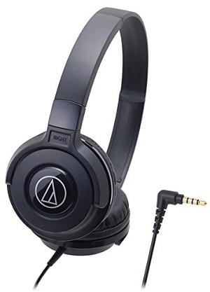 Audio-Technica Street ATH-S100BK Monitoring Headphones