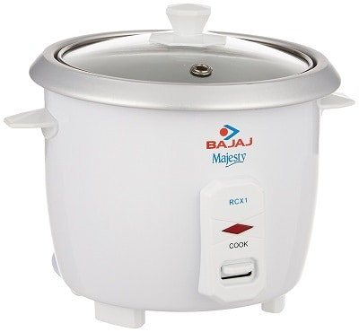 Bajaj Majesty RCX 1 Mini 0.4-Litre Multifunction Rice Cooker