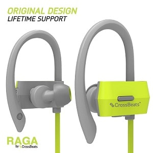 CrossBeatsTM Raga Wireless Bluetooth Earphones