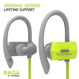 CrossBeatsTM Raga Wireless Bluetooth Earphones