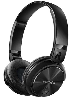 Philips SHB3060BK Bluetooth Headphones