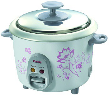 Prestige PRWO 0.6-2 300-Watt Electric Rice Cooker