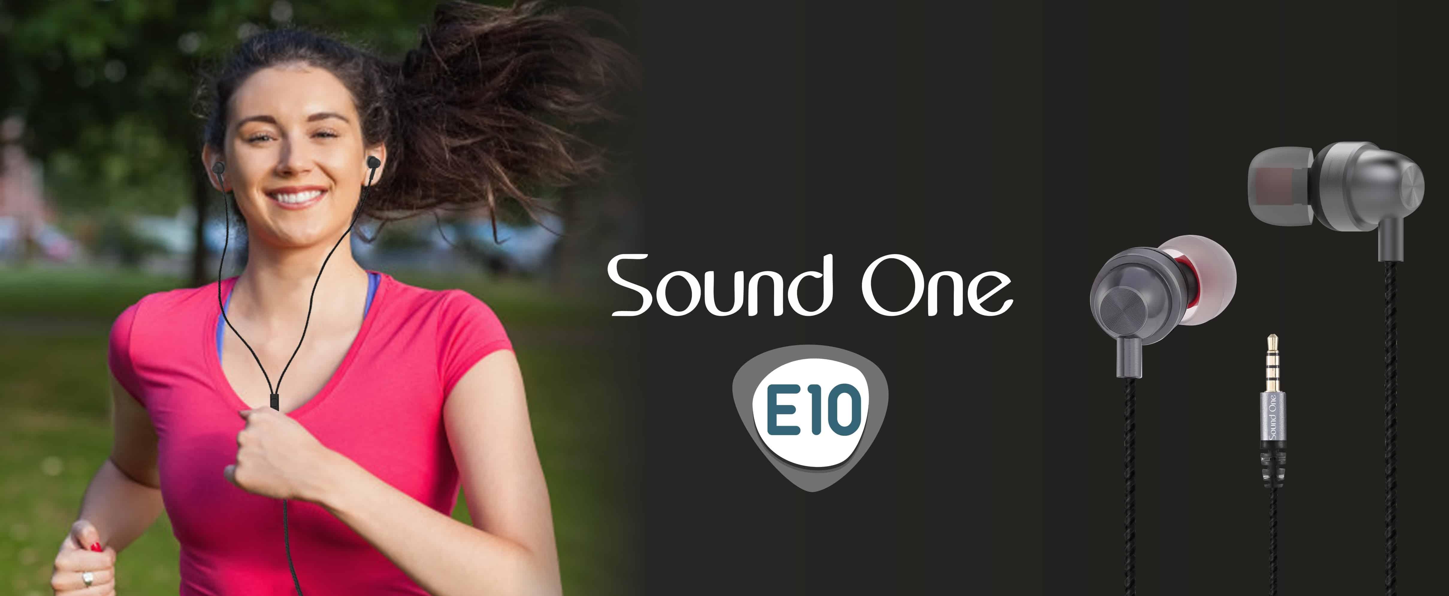Sound One E10 Earphones India