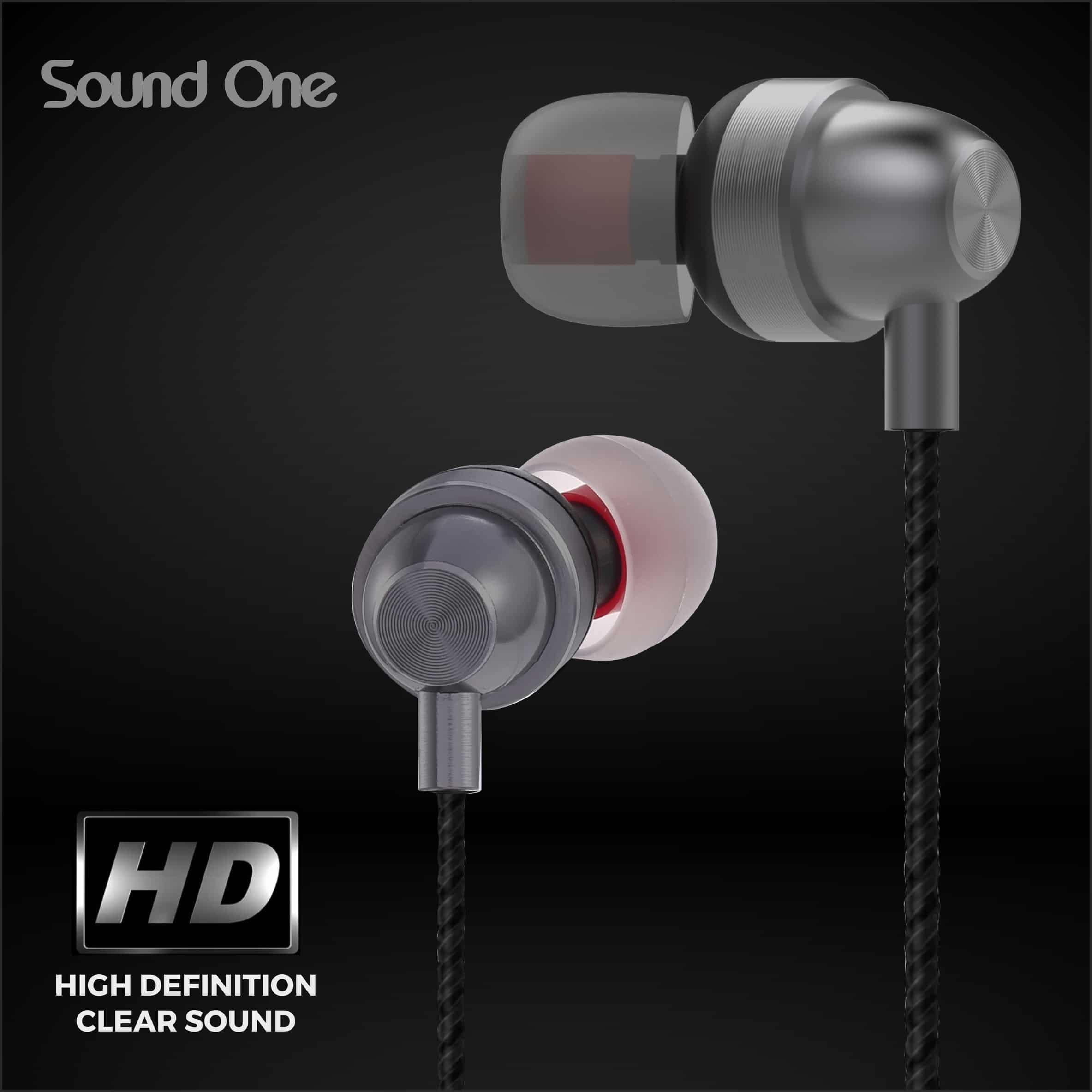 Sound One E10 in Ear Earphones