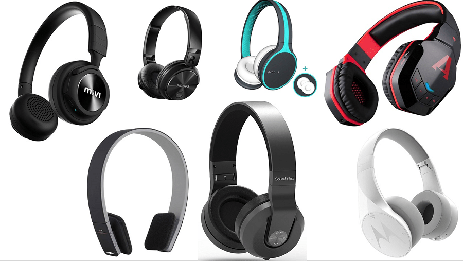 Top 10 Wireless Bluetooth Over-Ear Headphones Under Rs. 3000