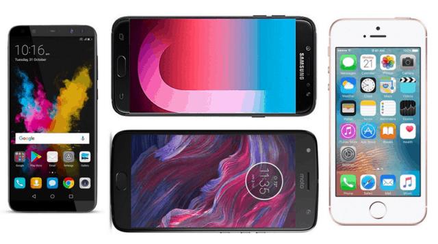 Top 5 Smartphones Under Rs. 20000