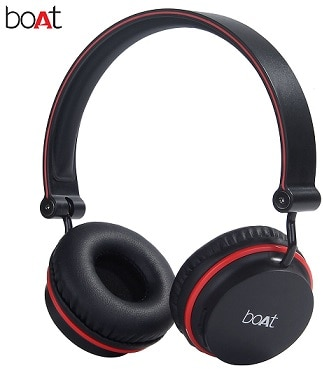 boAt Super Bass Rockerz 400 Bluetooth On-Ear Headphones