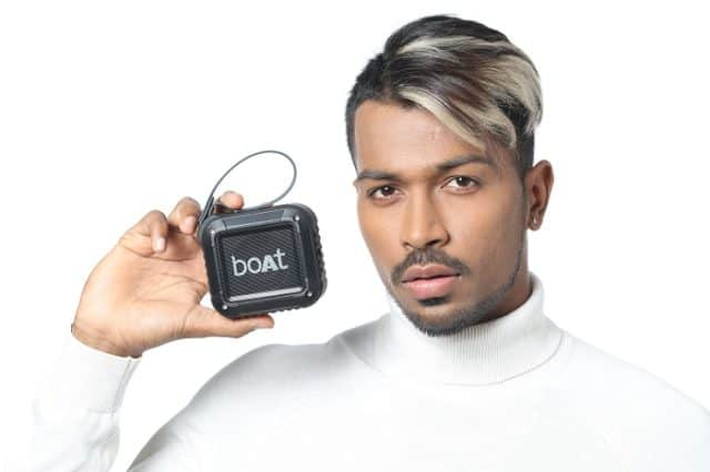boAt ropes in All-round cricketer Hardik Pandya
