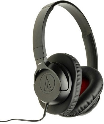 Audio-Technica ATH-AX1iSBK Over-Ear Headphones India