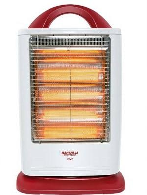 Maharaja Whiteline Lava Halogen Room Heater
