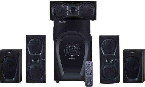Mitashi 9500 Watts PMPO 5.1 Ch. HT 6125 BT 5.1 Home Theatre System