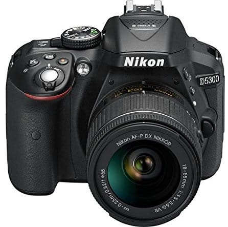 Nikon D5300 24.2MP Digital SLR Camera