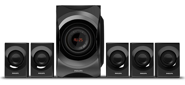 Philips SPA8000B94 5.1 Channel Multimedia Speakers System