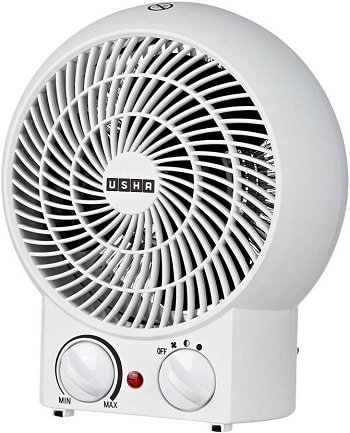 Usha 3620 White Fan Room Heater