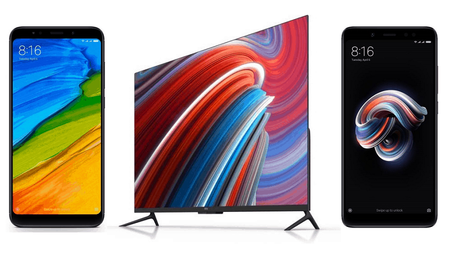 Xiaomi Announces Redmi Note 5 & Mi TV 4