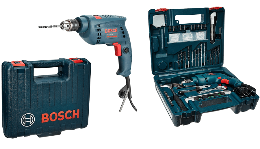 bosch gsb 10 re professional tool kit review shubz. Black Bedroom Furniture Sets. Home Design Ideas